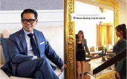 """NTK Thái Công gây choáng khi lắp gương dát vàng 2 tỷ VNĐ trong nhà nữ đại gia Sài Gòn: Chủ nhân thấy """"hạnh phúc khi soi"""", CĐM chê """"ra chợ cũng mua được cái tương tự"""""""