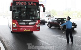 Hà Nội dừng toàn bộ hoạt động vận tải khách đến các tỉnh phía Nam