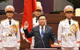 Ông Vương Đình Huệ tái đắc cử Chủ tịch Quốc hội, lần thứ 2 tuyên thệ nhậm chức