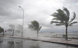 Áp thấp nhiệt đới cách bờ biển Nghệ An khoảng 160km