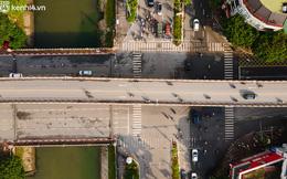 Ảnh: Toàn cảnh Hà Nội nhìn từ trên cao trong ngày giãn cách xã hội theo Chỉ thị 16