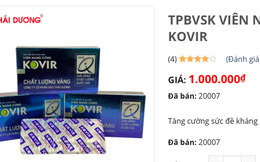 Viên Kovir 'phòng COVID-19' biến mất sau lùm xùm tăng giá