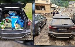 """Đem chiếc RS6 """"hàng mượn"""" đi cứu trợ lũ lụt, YouTuber bị Audi quở trách: Xe của chúng tôi không phải để làm việc đó"""