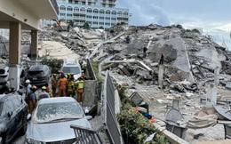 Số nạn nhân tử vong trong vụ sập nhà chung cư ở Mỹ tăng lên 20 người