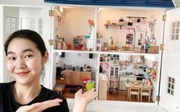 Nữ tiếp viên hàng không đam mê mô hình DIY đắt đỏ, 8 tháng sưu tầm để xây xong nhà đồ chơi giá 30 triệu