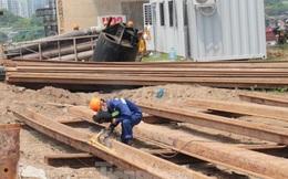 Hiện trạng cầu Vĩnh Tuy 2 sau 6 tháng khởi công