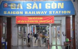 Đường sắt tạm dừng bán vé cho hành khách đi từ Sài Gòn và ngược lại