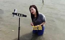 KOL Trung Quốc lợi dụng lũ lụt để câu view