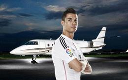 Vượt qua Messi và Neymar, Ronaldo có tới 2 máy bay cá nhân gần 100 triệu USD, bên trong như khách sạn mini