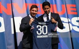 """Vừa đến PSG, """"máy in tiền"""" Messi đã hoạt động hết công suất, lập hàng loạt chiến tích khó tin"""