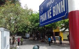 """Hà Nội tiếp tục đền bù """"đất vàng"""" Phan Kế Bính Đình 97,8 triệu đồng/m2 để lấy đất mở rộng đường"""