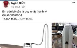 Fanpage Ngân Gốm vẫn công khai đăng bài bán hàng sau khi bị tố lừa đảo chiếm đoạt tài sản