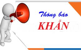 Hà Nội thông báo tìm người từng đến lò mổ Minh Hiền (Thanh Oai) từ ngày 31/7 - 13/8