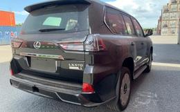 Khui công Lexus LX 570 Black Edition 2021 đầu tiên Việt Nam: Giá trên 9 tỷ đồng, dành cho đại gia thích 'nồi đồng cối đá' nhưng vẫn thể thao