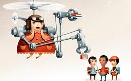 """Hình mẫu """"cha mẹ trực thăng"""": Tưởng tốt nhưng thực chất đang huỷ hoại tương lai và cuộc sống của con cái mình"""