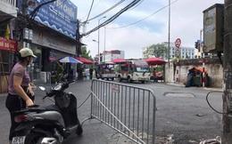 Dừng cấp giấy đi đường tại phường Chương Dương