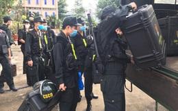Cận cảnh hàng trăm cảnh sát cơ động chi viện cho TPHCM và Bình Dương chống dịch