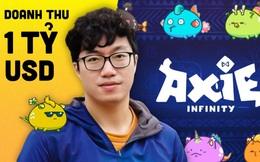 Axie Infinity tạo ra 488 triệu USD doanh thu trong vòng 90 ngày, giá đồng AXS tăng vọt giúp nhóm sáng lập Sky Mavis của Nguyễn Thành Trung sở hữu gần 1 tỷ USD