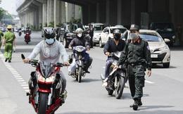 Hà Nội: Tổ công tác đặc biệt lập chốt dài 200 mét, kiểm tra hơn 1000 phương tiện trong 2 tiếng