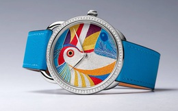 Cách Hermès tạo ra mặt số thêu đỉnh cao trên đồng hồ Toucan bản giới hạn