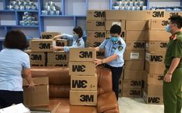 Thu giữ hơn 17.000 khẩu trang có dấu hiệu giả mạo thương hiệu 3M