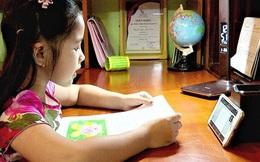 Hà Nội lùi lịch học trực tuyến đối với học sinh lớp 1