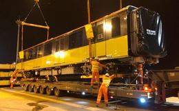 Đoàn tàu thứ 9 metro Nhổn - ga Hà Nội về Việt Nam