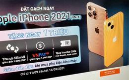 iPhone 13 chưa ra mắt nhưng cửa hàng bán lẻ tại Việt Nam đã cho người dùng đặt trước, dự kiến giao hàng vào tháng 10