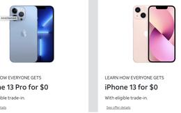 """Người Việt phải làm việc 130 ngày để mua iPhone 13 còn nhà mạng Mỹ lại đang chạy đua để """"cho không"""" người dùng"""