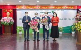 2 nhân sự cấp cao nhất của Vietcombank chính thức nhận quyết định bổ nhiệm