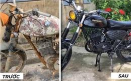 Thanh niên Việt Nam mang chiếc Minsk hoen gỉ về phục chế, dân mạng nước ngoài 'vỗ tay rào rào'