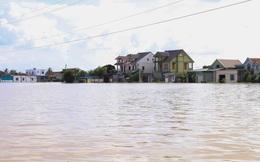 Hình ảnh chưa từng có trong tâm lụt tại Nghệ An