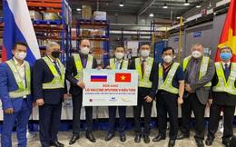Việt Nam tiếp nhận lô vaccine Sputnik V đầu tiên