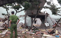 Hiện trường vụ nổ như bom ở Quảng Nam khiến căn nhà 2 tầng bị hất tung, thi thể nạn nhân không còn nguyên vẹn