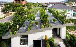 """Thêm một công trình đỉnh cao của KTS Võ Trọng Nghĩa: Ngôi nhà với """"ruộng bậc thang"""" trên mái, ngắm mà phải thốt lên """"ờ mây zing"""""""