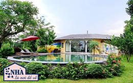 Nhà vườn 2.000m2 tuyệt đẹp ở ngoại thành Hà Nội: Không gian sống lý tưởng như resort cao cấp với bể bơi, sân golf mịn, ai nhìn vào cũng mê