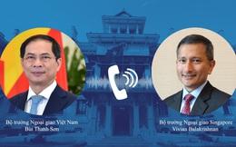 Đề nghị Singapore hỗ trợ hoặc chuyển nhượng vaccine dôi dư cho Việt Nam