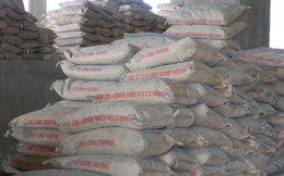 Xi măng là sản phẩm tiêu thụ khá nhất trong các loại vật liệu xây dựng