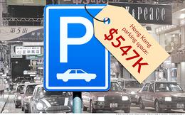 Hong Kong: 14 tỷ đồng cho một chỗ để xe ôtô