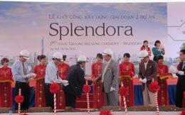 Splendora khởi công giai đoạn 2
