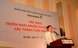 Vietcombank: Huy động vốn đến cuối tháng 9 tăng 17,67% so với đầu năm