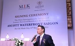 Tổng quản lý Ascott Việt Nam: Nhìn thấy tiềm năng cho căn hộ dịch vụ trong nước