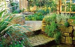 Những mẫu thiết kế cầu thang sân vườn gần gũi với thiên nhiên
