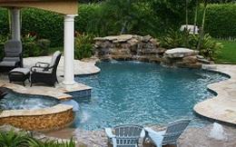 Mê mẩn với 16 mẫu bể bơi tuyệt đẹp