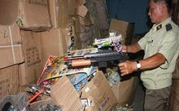 Phát hiện số lượng lớn đồ chơi trẻ em bạo lực