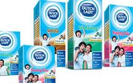 Giá sữa nước Dutch Lady tăng 2%-8%