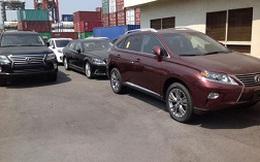 Tạm giữ 20 ô tô diện tài sản Việt kiều hồi hương