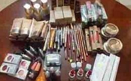 Tạm giữ hàng ngàn mỹ phẩm Trung Quốc nhập lậu