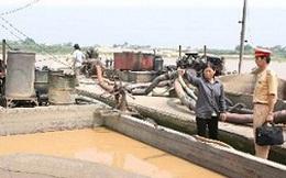 """Hà Nội """"siết chặt"""" hoạt động khai thác khoáng sản"""