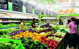Giá rau ở chợ tăng mạnh, siêu thị tăng nhẹ